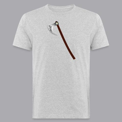 Wikinger Beil - Männer Bio-T-Shirt