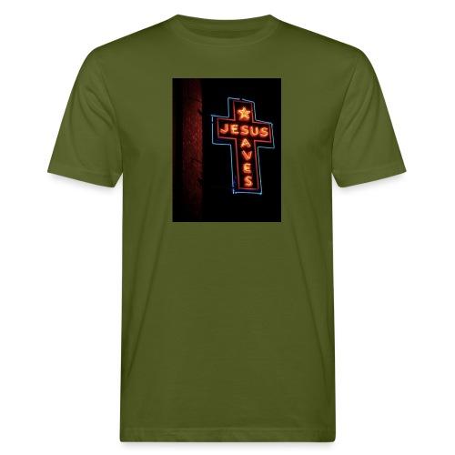 Jesus Saves - Men's Organic T-Shirt