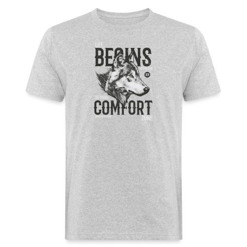 Uscire dalla comfort zone - T-shirt ecologica da uomo