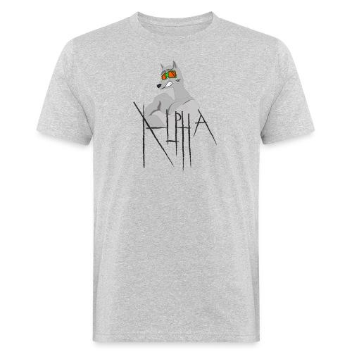Alpha Wolf - T-shirt ecologica da uomo