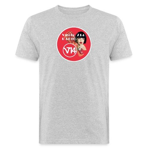 Logo pin up circle 1080x1080 - Camiseta ecológica hombre