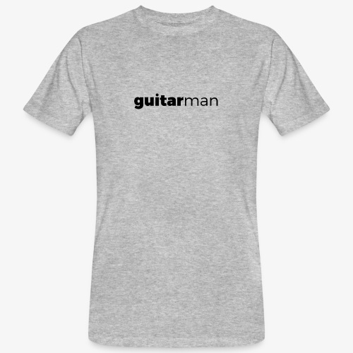 guitarman - Männer Bio-T-Shirt