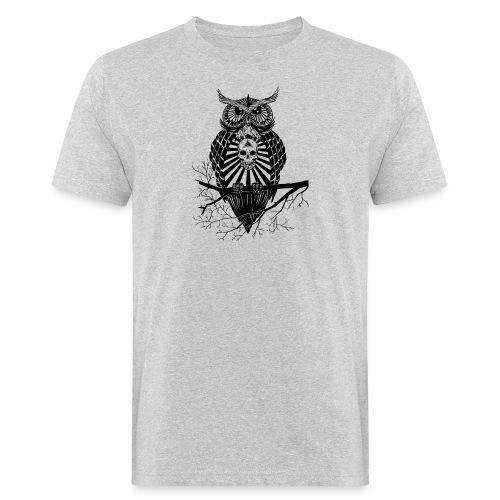 Hibou Psychédélique - T-shirt bio Homme