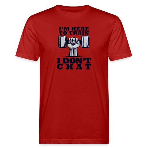 Train Chat - Miesten luonnonmukainen t-paita