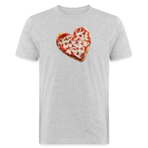 Pizza a cuore - T-shirt ecologica da uomo