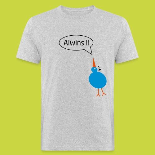 birdie one alwins - Mannen Bio-T-shirt