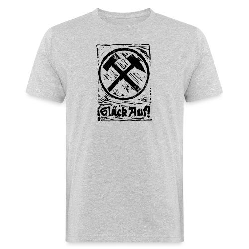 GlueckAuf - Männer Bio-T-Shirt