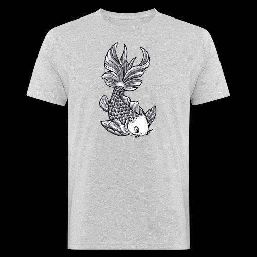 Pesce Tattoo Flash - T-shirt ecologica da uomo