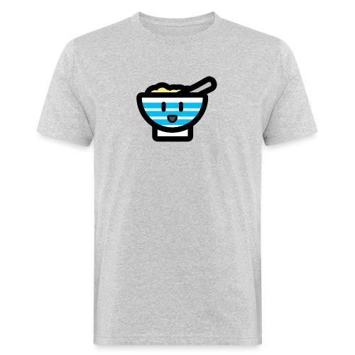 Cute Breakfast Bowl - Men's Organic T-Shirt