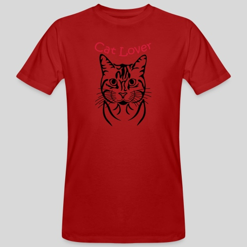 Cat-Lover - Männer Bio-T-Shirt