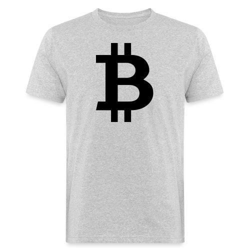 Bitcoin black - Ekologisk T-shirt herr