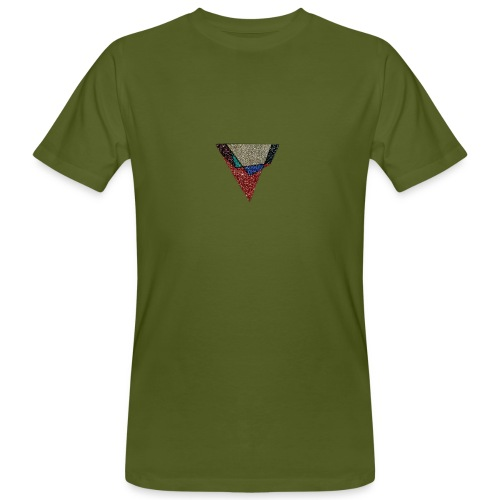Flip Side Graphite Logo - Men's Organic T-Shirt