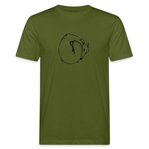 Kringelwindhund - Männer Bio-T-Shirt