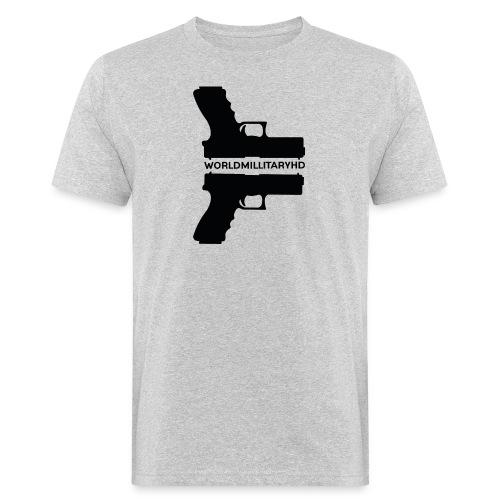 WorldMilitaryHD Glock design (black) - Mannen Bio-T-shirt