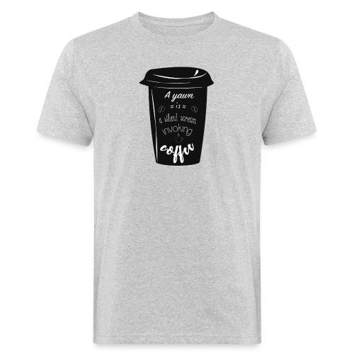 Coffee - T-shirt ecologica da uomo