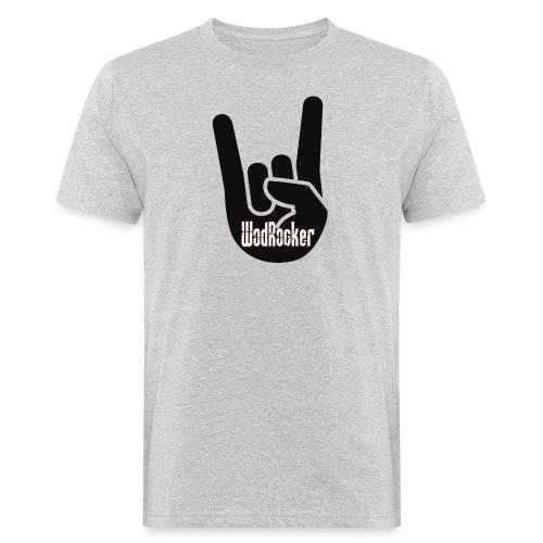 wodrocker Rock out Logo - Men's Organic T-Shirt