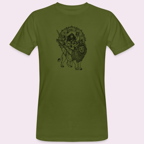 Durga - Männer Bio-T-Shirt