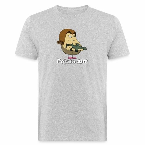 Mrs Potato Aim - Men's Organic T-Shirt