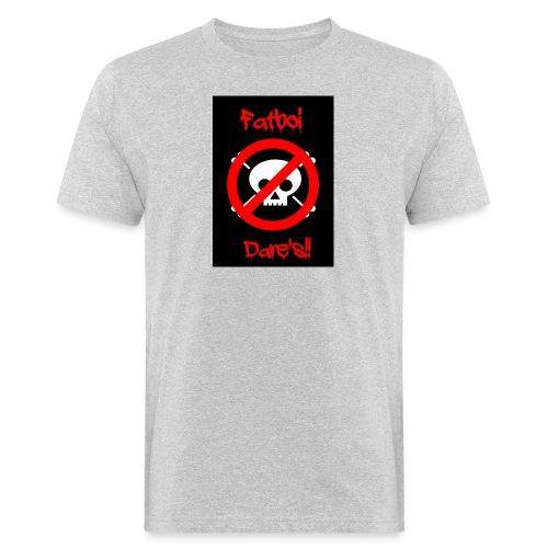 Fatboi Dares's logo - Men's Organic T-Shirt