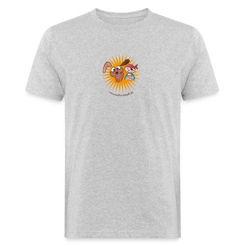 Kollin Kläff - Hund mit Pirat - Männer Bio-T-Shirt