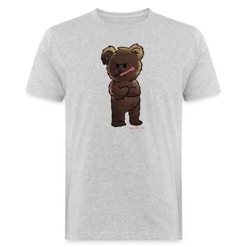Fieber-Bär - Männer Bio-T-Shirt