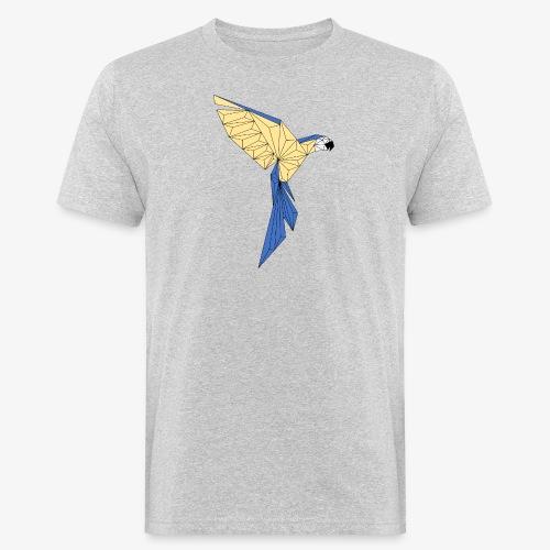 Papagei geometrisch - Männer Bio-T-Shirt