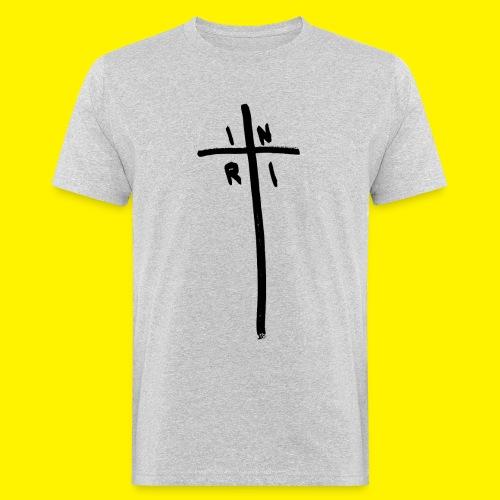 Cross - INRI (Jesus of Nazareth King of Jews) - Men's Organic T-Shirt