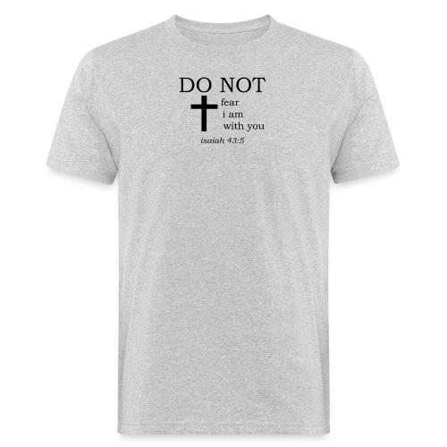 'DO NOT' t-shirt - Men's Organic T-Shirt