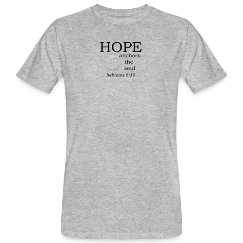 'HOPE' t-shirt - Men's Organic T-Shirt