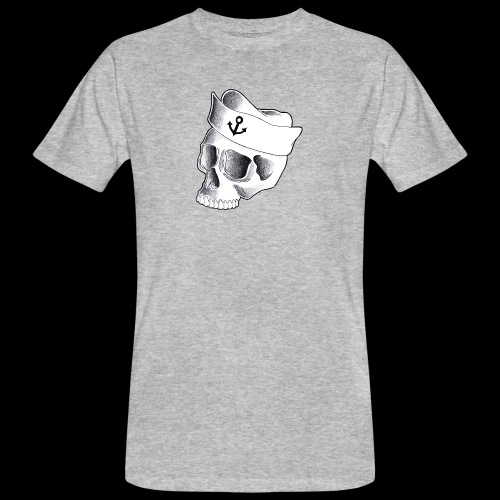 Teschio Marinaio - T-shirt ecologica da uomo