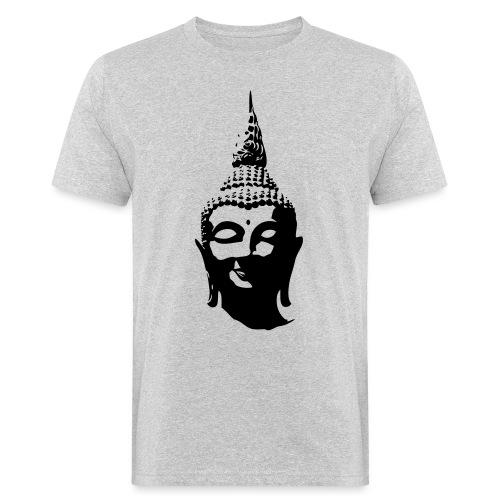 Boeddha hoofd - Mannen Bio-T-shirt
