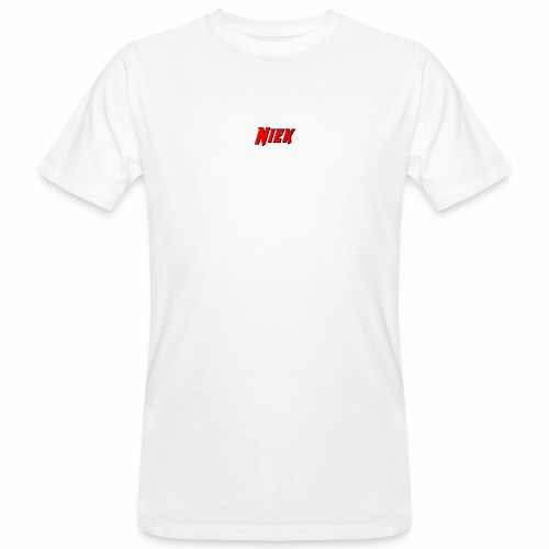Niek Red - Mannen Bio-T-shirt
