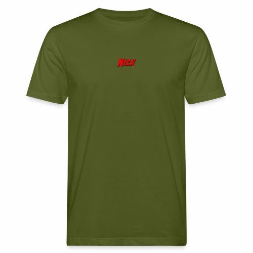 Niek Red - Mannen Bio-T-shirt
