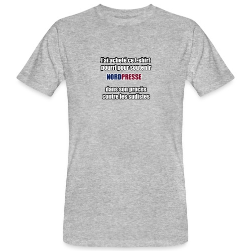 nordpresse - T-shirt bio Homme
