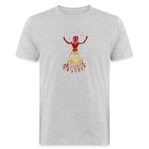 Obsidio Feuer Gwenny - Männer Bio-T-Shirt