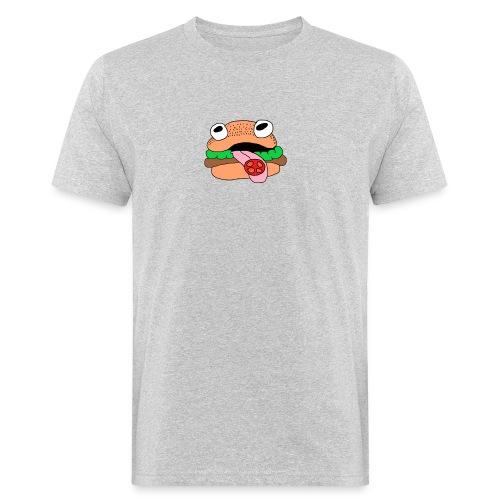 Burger - Männer Bio-T-Shirt