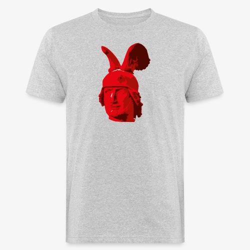 Kopf des Hermannsdenkmals - Männer Bio-T-Shirt