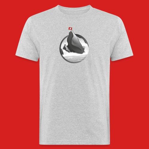 Rheinfall - Männer Bio-T-Shirt
