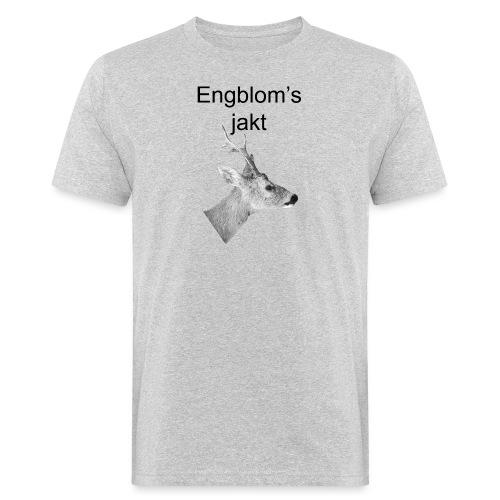Officiell logo by Engbloms jakt - Ekologisk T-shirt herr