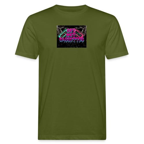 get wet cassettes - Miesten luonnonmukainen t-paita