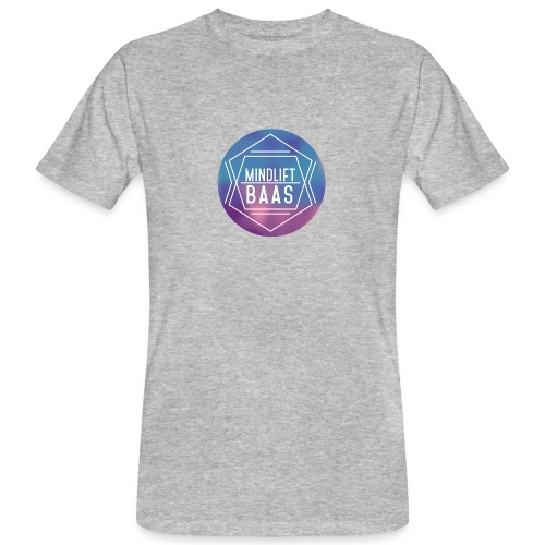 MindLift BAAS - Mannen Bio-T-shirt