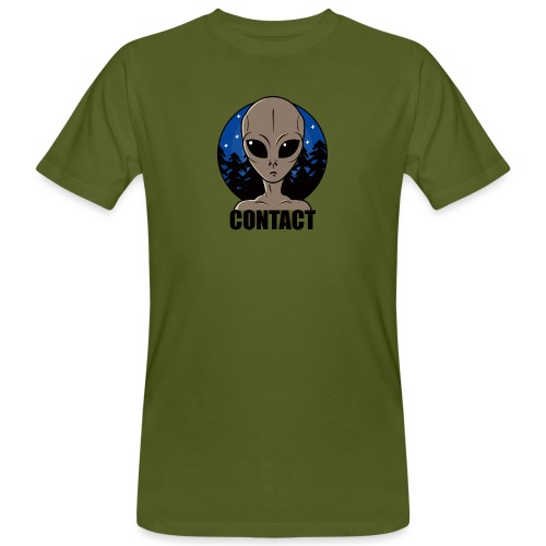 Contact Extraterrestre - T-shirt bio Homme