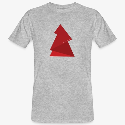 sapin triangles rouges - T-shirt bio Homme