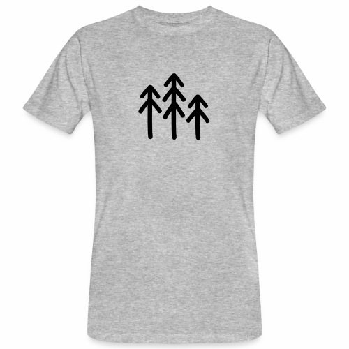 RIDE.company - just trees - Männer Bio-T-Shirt