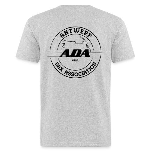 ADA DAX Logo Groot Zwart - Mannen Bio-T-shirt