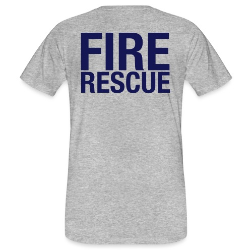 Fire and Rescue - Men's Organic T-Shirt