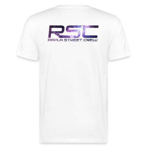 Rapla Street Crew Logo Galaxy - Men's Organic T-Shirt