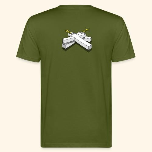 Gold Crosses - T-shirt ecologica da uomo