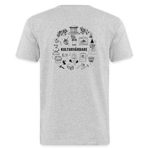 Baksidestryck - Ekologisk T-shirt herr