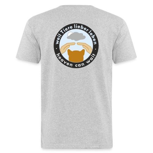 150411-kreis-schwarz - Männer Bio-T-Shirt